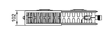 Kermi plv 22 wys. 605
