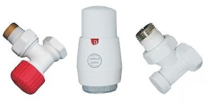 Z13 zestawy termostatyczne kątowe