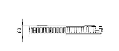 Kermi PLK 11 wys. 305