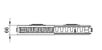 Kermi PLK 12 wys. 605