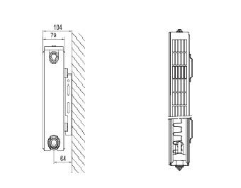 PLAIN P21 wys. 500