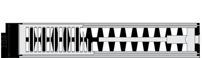 PURMO RCVM22 wys.600