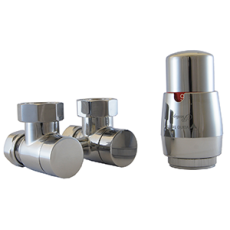 Zestaw termostatyczny Premium Exclusive PREGS0221C/FK Biały Matowy