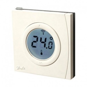 Termostat RS Z - termostat pokojowy z otwartym protokołem komunikacji Z-wave 014G0160