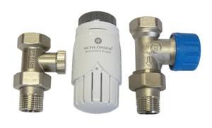 Zestaw termostatyczny Standard prosty z głowicą 600100001