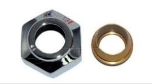 Złączka zaciskowa do rury z miedzi 15x1 gw 3/4'' biały mat zzm1521
