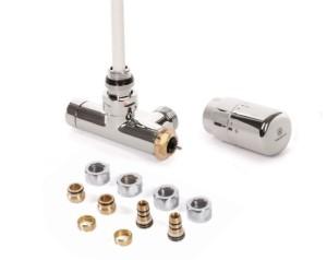 Zestaw zintegrowany termostatyczny z rurką zanurzeniową Chrom WRZT5G7-CR
