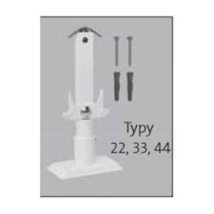 Stojak do grzejników płytowych o wysokości 200 mm az02bs1200224401
