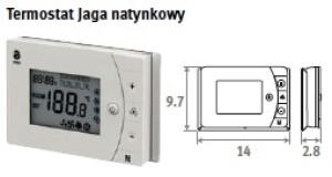 Termostat  Grzanie/Chłodzenie Natynkowy 8751.050013