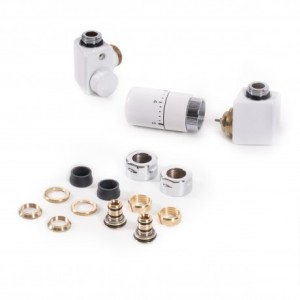 Zestaw Dexter termostatyczny prawy Biały TGETCG2-BI