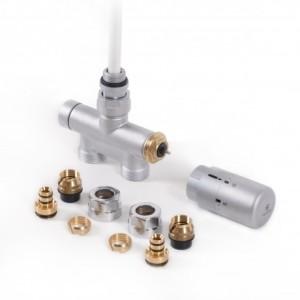 Zestaw zintegrowany termostatyczny z rurką zanurzeniową Satyna WRZT5G7-ST