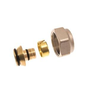 """Złączka zaciskowa do rur z tworzywa sztucznego PEX GW 3/4"""" (18x2 mm) 013G4158"""
