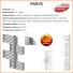 Grzejnik łazienkowy PARYS P35 700x1800