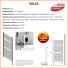 Grzejnik łazienkowy Gaja GP 30/50 555x1600