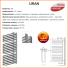 Grzejnik łazienkowy URAN U13 130x700