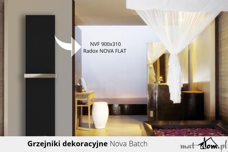 Grzejniki dekoracyjne Radox - Nova Flat